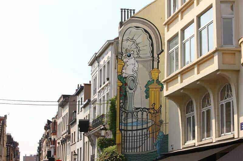 Brüksel'in Çizgi Roman Rotası