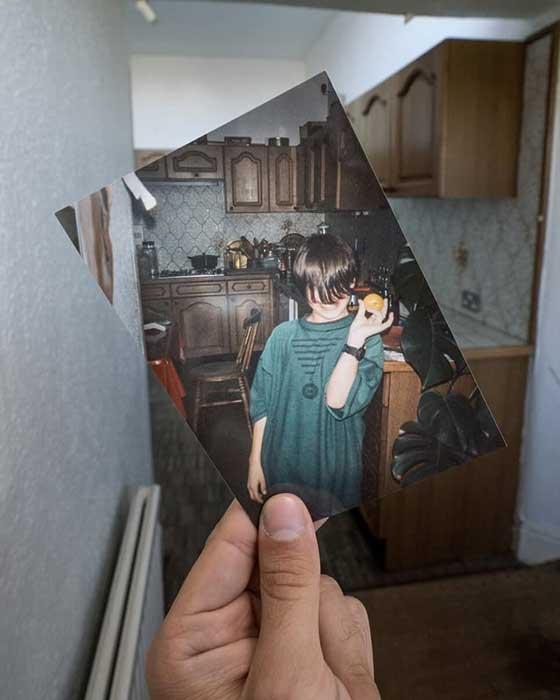 Geçmişe Açılan Bir Pencere: Boş Evleri Hayata Döndüren Fotoğraflar 1
