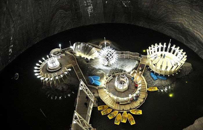 Salina Turda: Yerin 120 Metre Altındaki Lunapark 2
