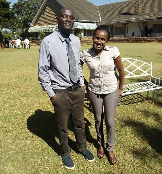 Manja Mwaura ve Patrick Hinga
