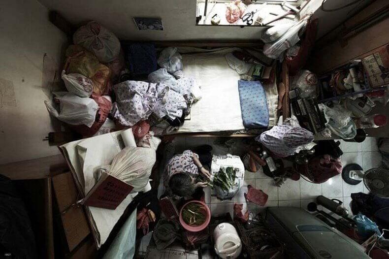 Michael Wolf: Hong Kong'un Kalabalık Apartmanları