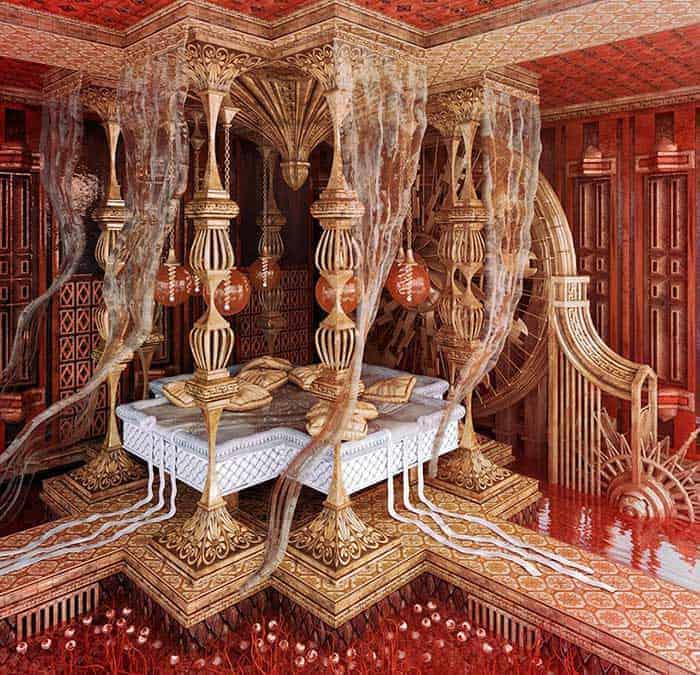 Author Yönetmenlerin Sinemasal Dünyasını Yansıtan Yatak Odaları