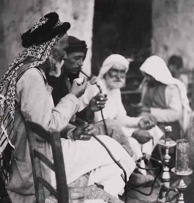 Fotoğraflarla Eski Osmanlı Kahvehaneleri