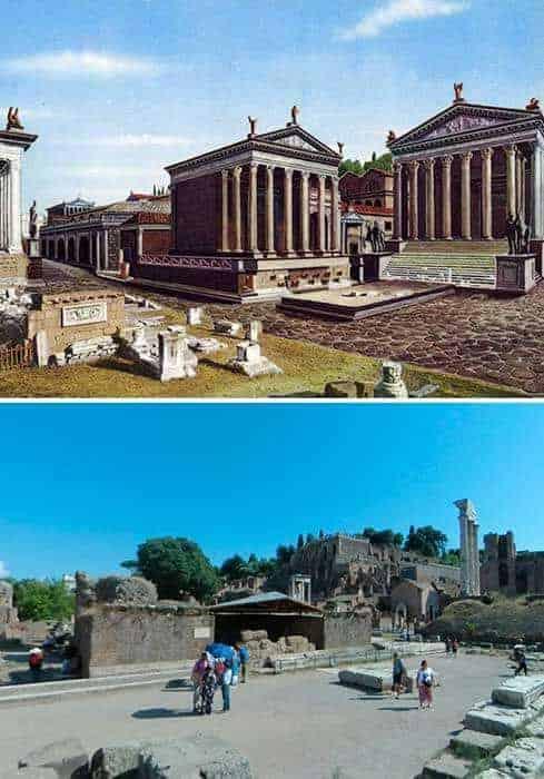 Öncesi ve Sonrası: Antik Roma Yapıları 3