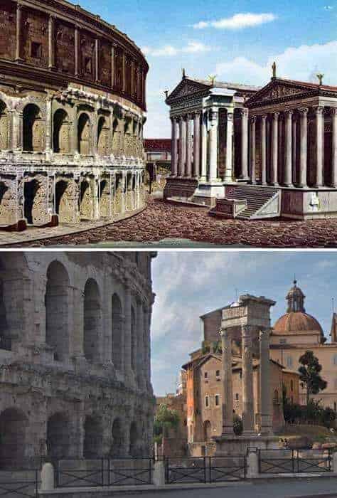 Öncesi ve Sonrası: Antik Roma Yapıları 1