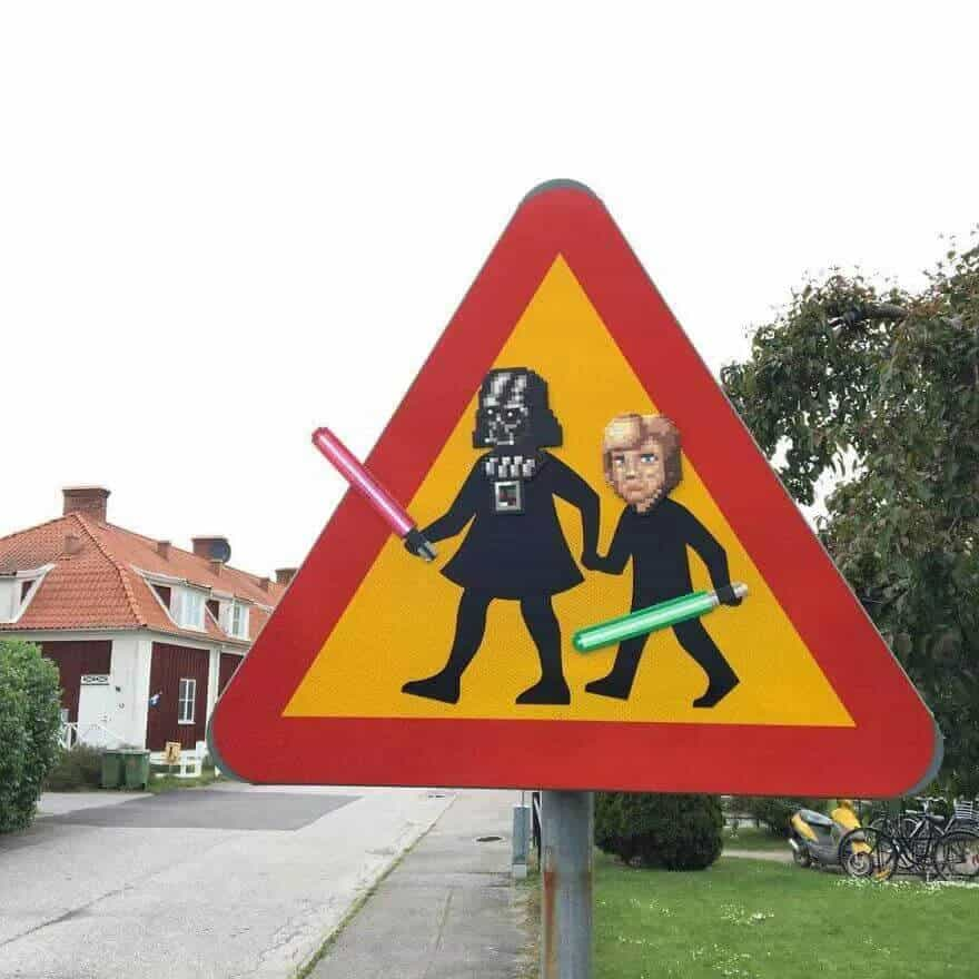 Johan Karlgren ve Sokaklardaki Piksel Karakterler